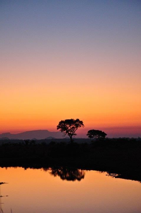 South African sunset