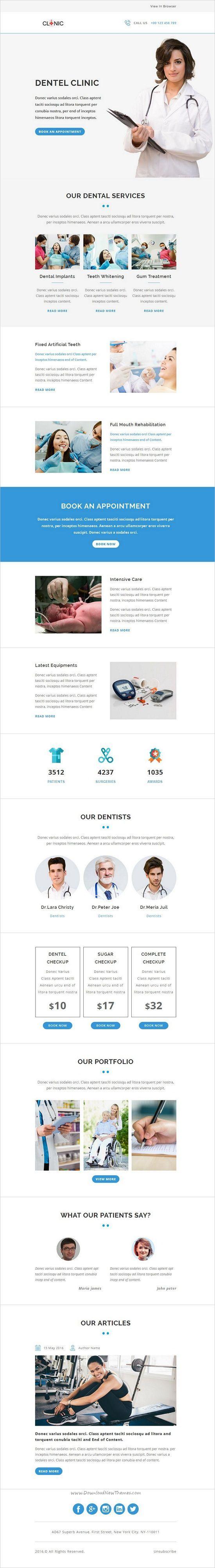 healthcare newsletter templates