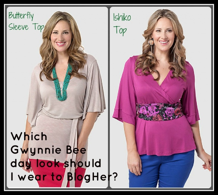 Vote for your favorite @Gwynnie Bee outfit for me to wear to BlogHer '12! @gwynniebee