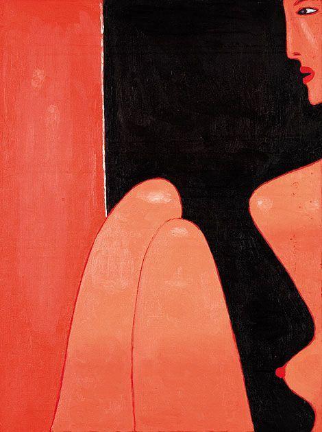 Jerzy Nowosielski - Nude