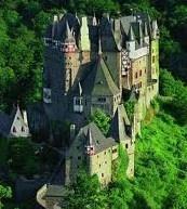 mittelalterliche Burg Elz, Eifel. Germany