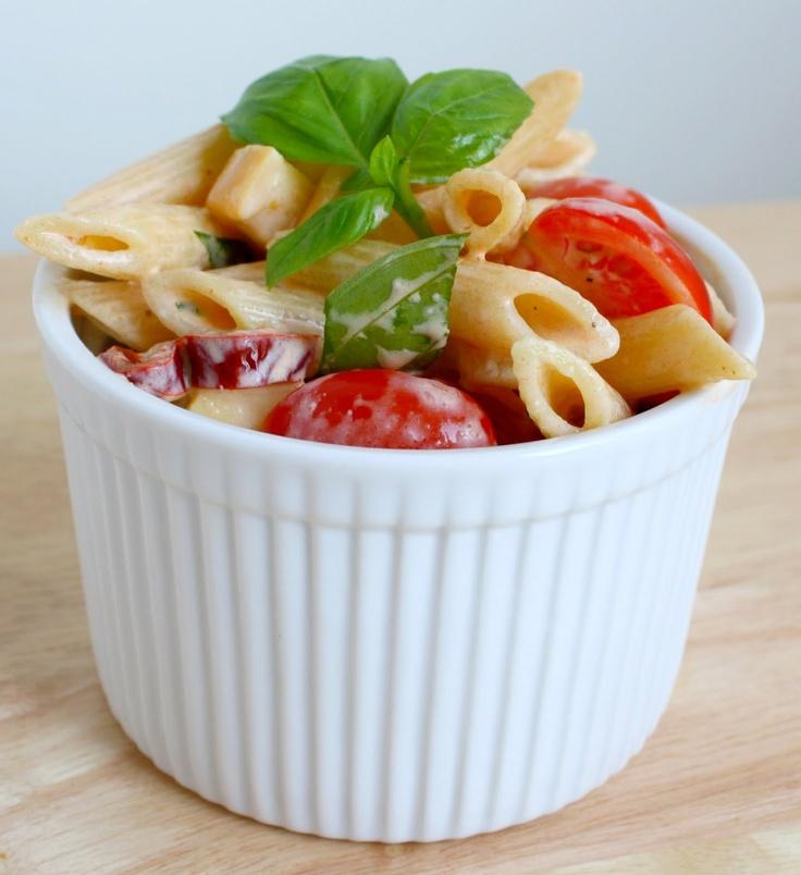 Spicy thai style pasta salad recipe