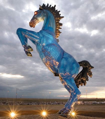 Love it or hate it, the Denver airport's demon horse is becoming iconic.