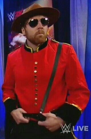 Dean Ambrose in: The Mountie!!!!!