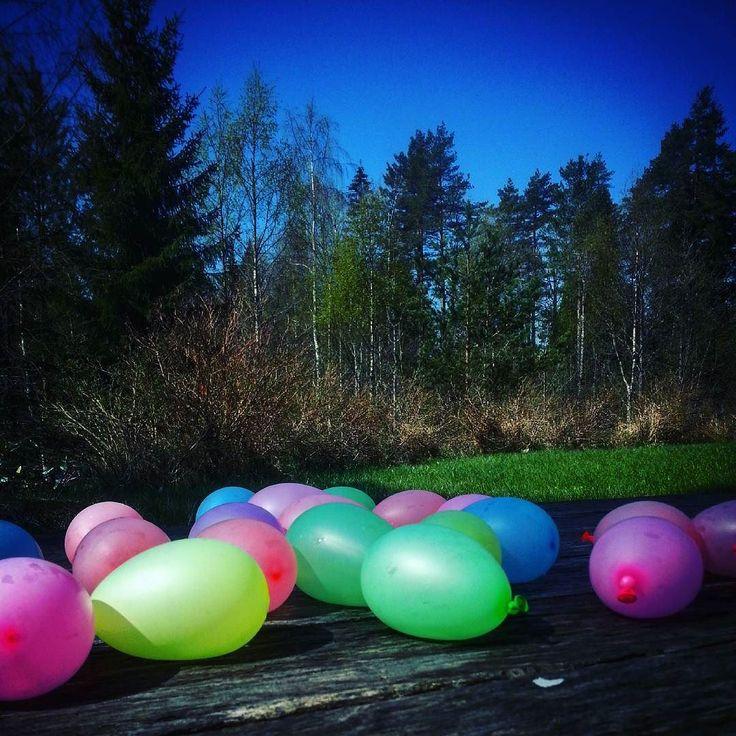 SommerfølelseSummerfeeling #vannballongkrig #vannballonger #waterballoons…