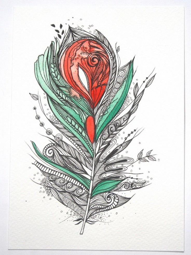 "Flower Lover. 5""x7"" Original Artwork. Ink and Water Colors  {by Himadri Pachori in her My Zen Mode shop on Etsy}"