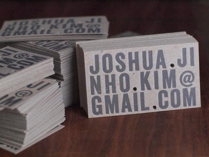 Presshaus LA — business cards