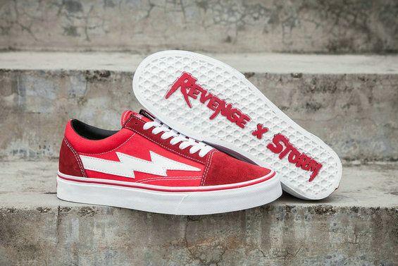 68874027ad Revenge x Storm II Vol.1 Vans Old Skool Red White GD115 RSFW17FW000 Skate  Shoe  Vans