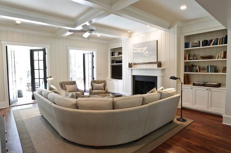 curved sectional sofa ideas living room beach style with pharmacy lamp transitional floor lamps