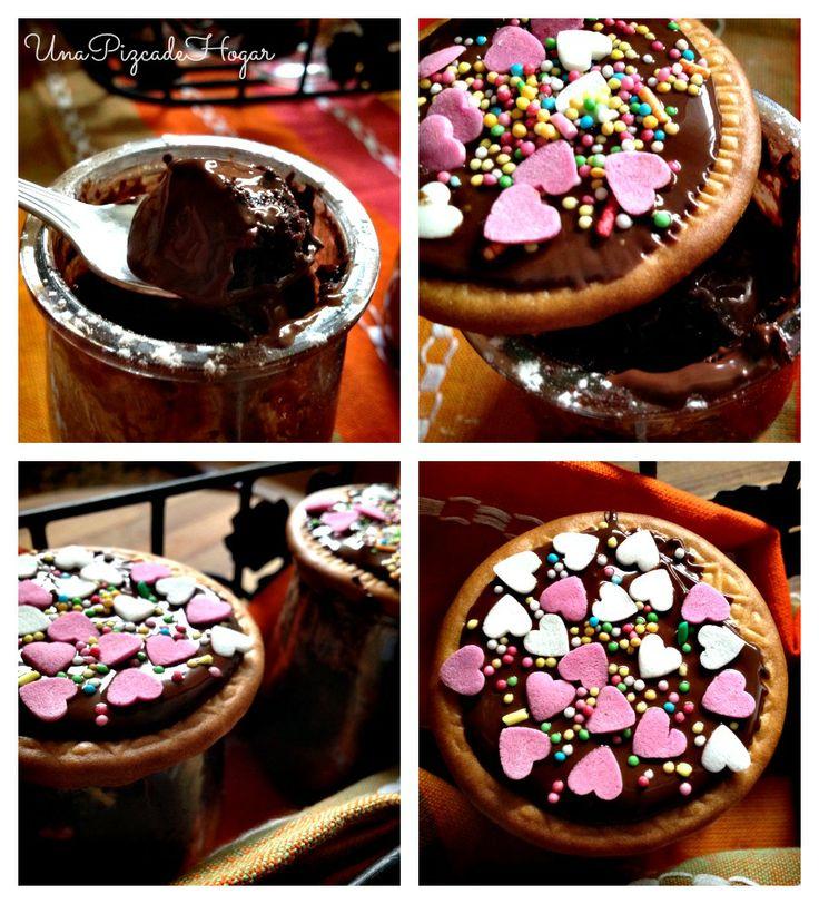 Bizcochitos de Chocolate al Microondas!.