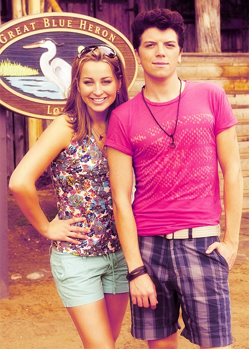 Michael Seater and Ashley Leggat # lwd aw they're so cute ...