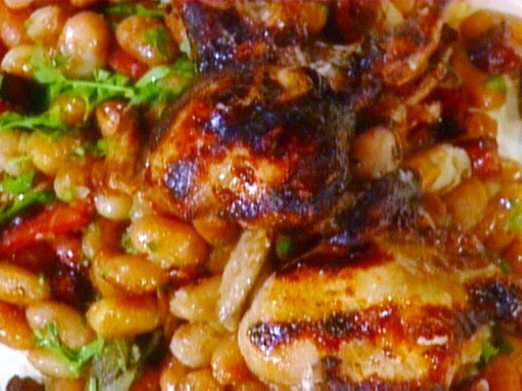 Quaglie con Pancetta (Quail with Pancetta) : Mario Batali : Food Network