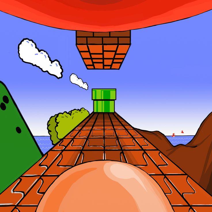 Mario 8-Bit POV