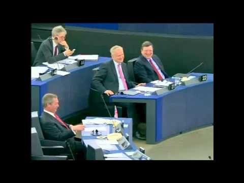 """Nigel Farage """"Get Your Money Out of Eurozone"""" - YouTube"""