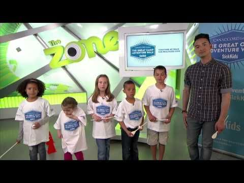 The Great Camp Adventure Walk on YTV - June 14