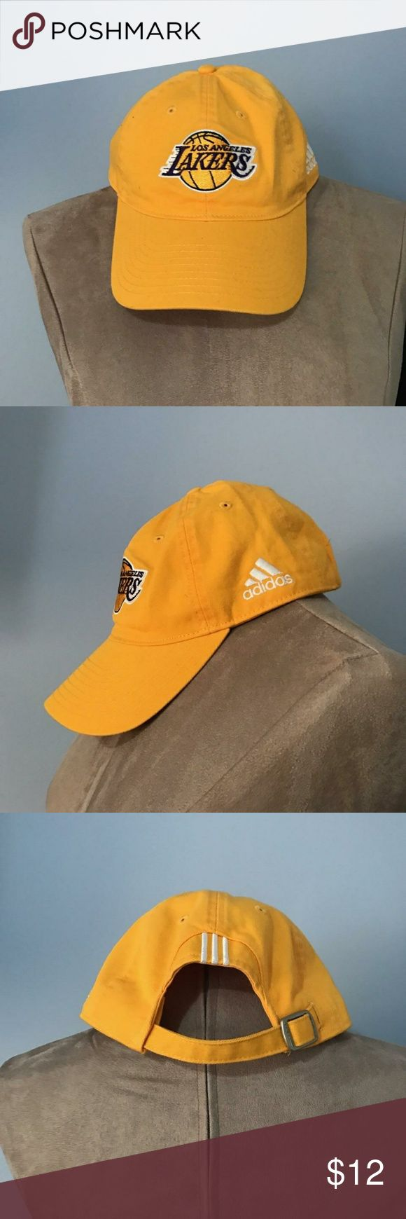 Adidas, Lakers Cap NWOT, Buckle back adjustable strap. adidas Accessories Hats