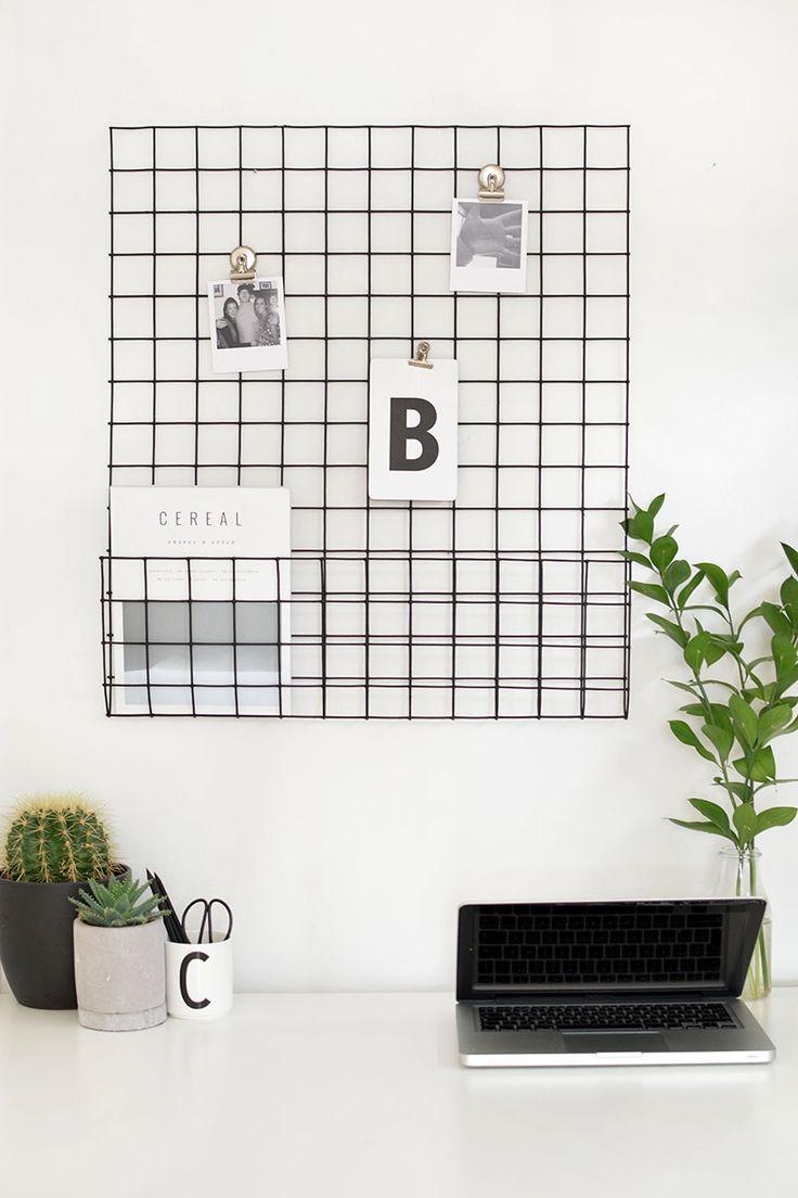 DIY | memo storage grid /burkatron/