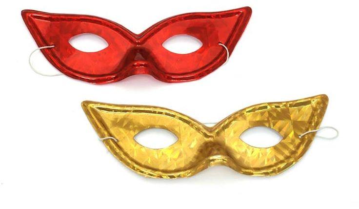 Škraboška 9050 hologramová kočičí oči, masky a barvy na obličej - Dětské hry, karneval