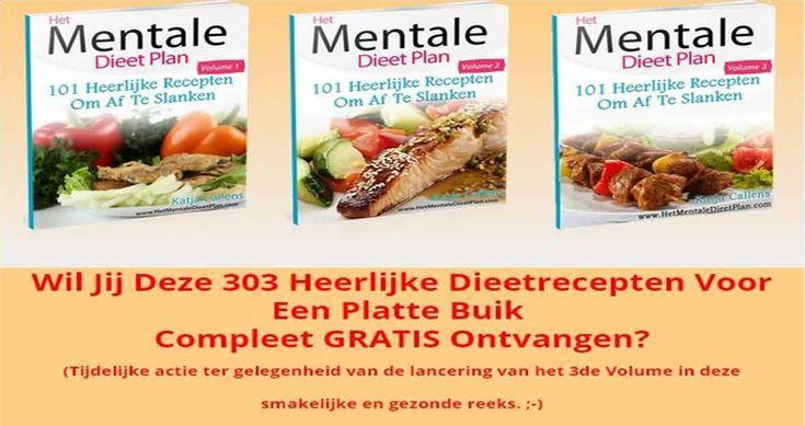 Wil jij deze 303 Heerlijke Dieetrecepten Voor Een Platte Buik Compleet GRATIS Ontvangen? Klik hier om ze te ontvangen