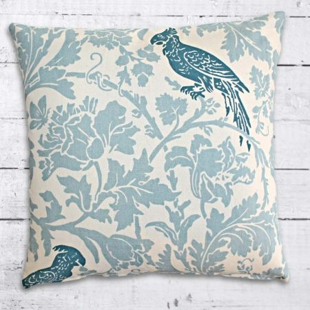 Look at the Birdy - Blue Cushion Cover - hardtofind.