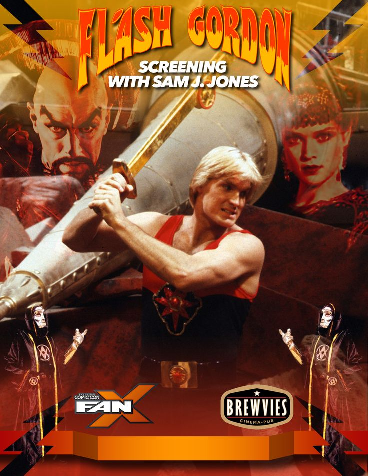Kick off #FANX17 with a special screening of Flash Gordon! Followed by a Q&A with star Sam J. Jones! Thursday, March 16 at 8pm. 21+, tickets available now! Click image for more info. #utah