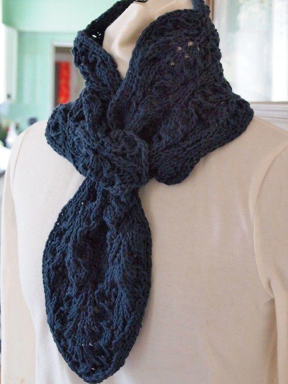 Lovely key hole scarf | Scarf crochet pattern, Scarf yarn ...