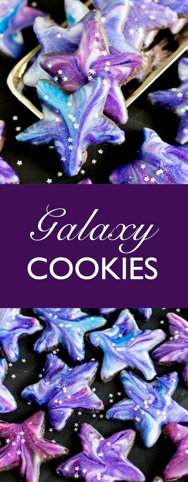These Galaxy Cookies are out of this world! #Ad