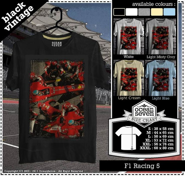 Kaos Balap F 1 | Formula One Racing  series 1