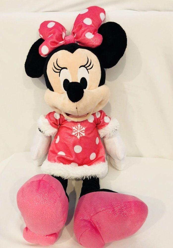 Disney Minnie Mouse 22 Plush Stuffed Animal Holiday 2017 Toys R Us
