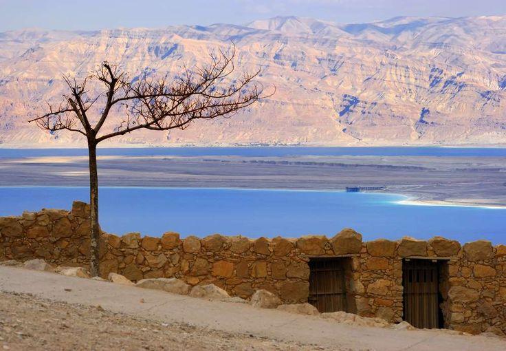 Na foto, Mar Morto visto de Masada, Israel. - Dejan Gileski Shutterstock