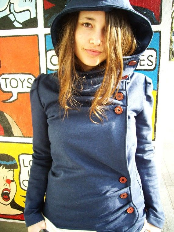 40 OFF The Hooded Missy by LittleHouses on Etsy, $54.00