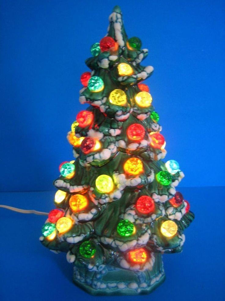 25 Unique Vintage Ceramic Christmas Tree Ideas On Pinterest