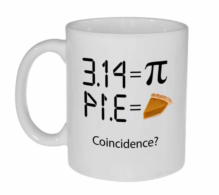 Pi 3.14 - Intergalactic Pi Day Celebration Coffee or Tea Mug