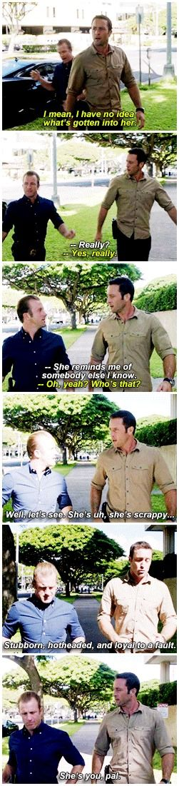 hawaii five 0 mcdanno scott caan alex o'loughlin H50: 4x14 geez steve could you sound any more fond once more with all the feelings