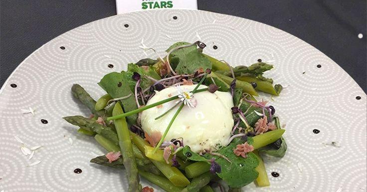 Éclosion sur son nid de verdure par Ladygeek de l'agence de IDF Est, recette qualifiée pour la demi-finale Thermostars