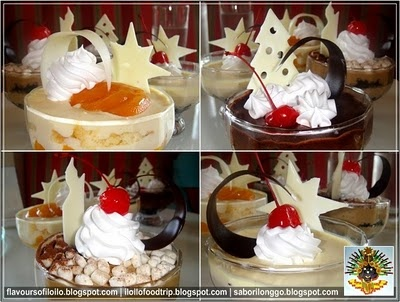 Cakes of Tinapayan Bakeshop at The Atrium, Iloilo City