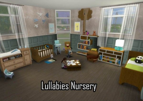 28 Best Ts4 Room Sets Nursery Images On Pinterest Sims