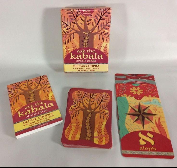 Ask The Kabala Oracle Cards Deepak Chopra Michael Zapolin