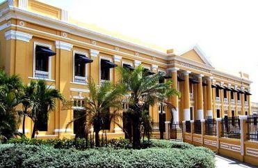 Uno de los más bellos monumentos arquitectónicos de la ciudad de Barranquilla es la Estación Montoya, punto de partida de la línea férrea Barranquilla-Saba