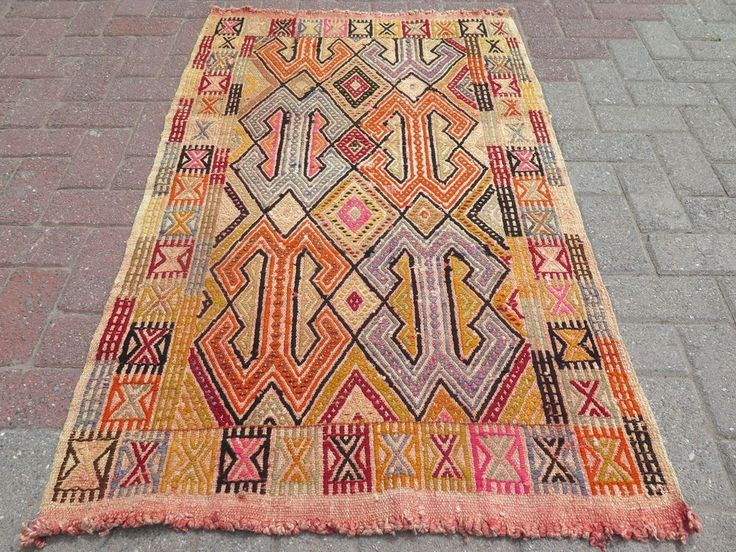 "Vintage Turkish Small Rug For Sale,Wool Rugs 32,6"" x 53,1"" Small Area Rug,Carpet #Turkish"