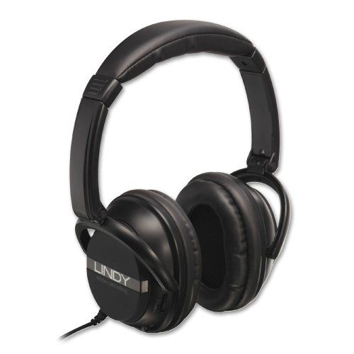 Special Offers - Lindy 20425 Active Noise Canceling Headphones Review - In stock & Free Shipping. You can save more money! Check It (December 29 2016 at 12:01AM) >> http://wheadphoneusa.net/lindy-20425-active-noise-canceling-headphones-review/