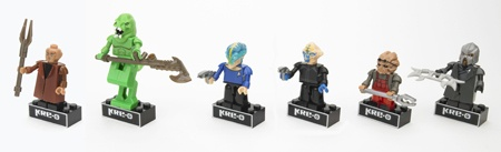 KRE-O STAR TREK KREON FIGURE PACKS
