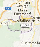 Map of austria modling