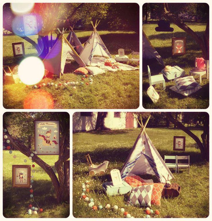LittleNOMAD teepees & Sprinkles.pl posters