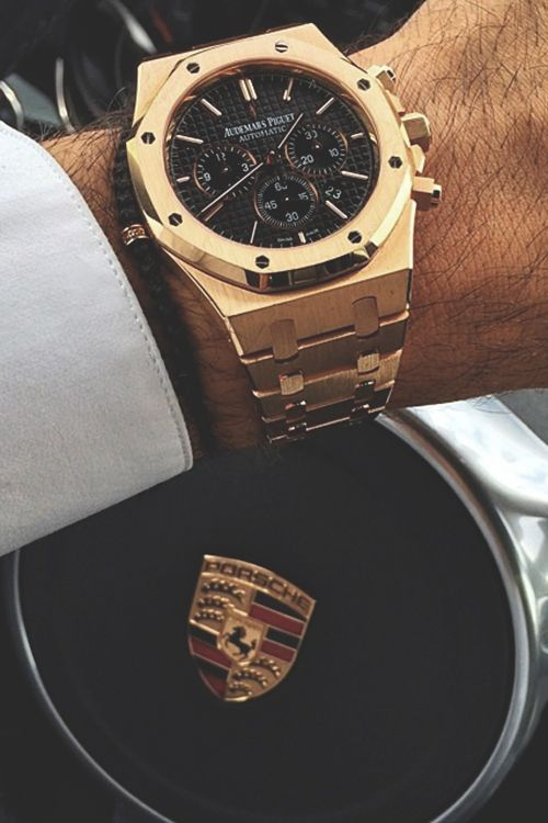 Audemars Piguet x Porsche. Not really any more G than that. Watches are my secret addiciton. I also love Stylish Bracelets.