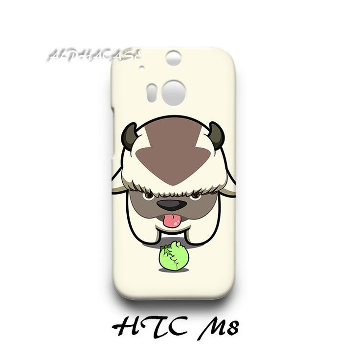 Avatar Appa and Cabbage HTC M8 Hardshell Case Cover