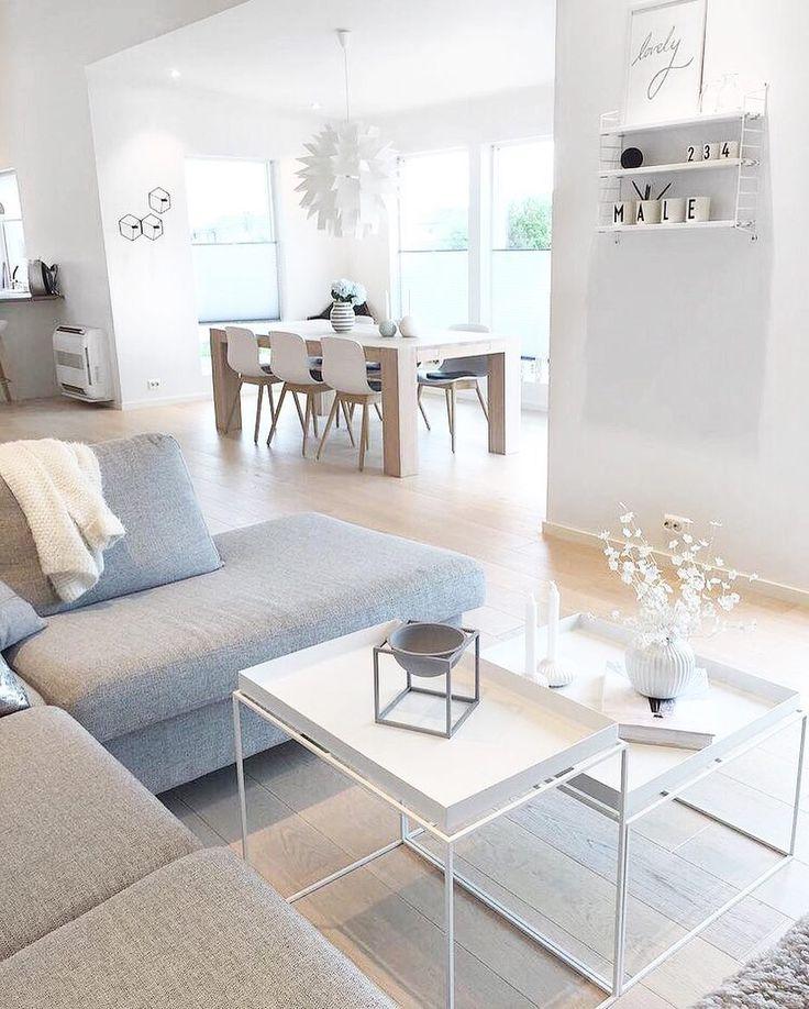 "9,643 Likes, 73 Comments - Scandinavian Homewares (@immyandindi) on Instagram: ""The beautiful Nordic home of @casa_havaas 👈🏻👌🏻"""