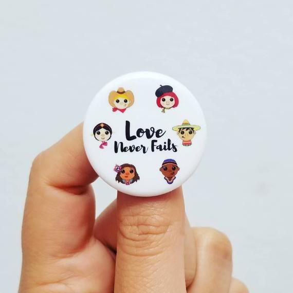 Love Never Fails Pins JW International//Regional Convention 2019 Pack of 75
