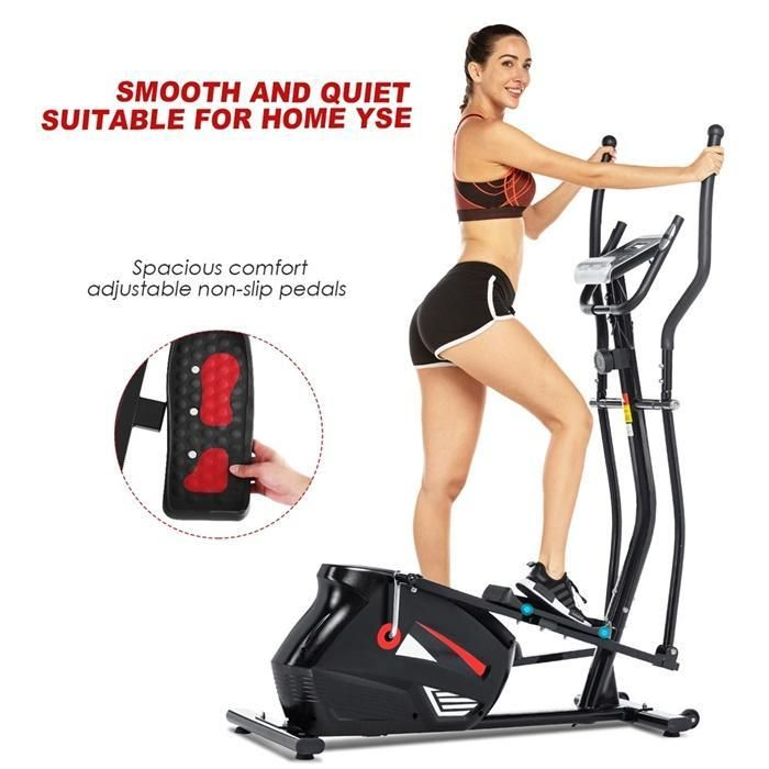 Elliptical Trainer Lcd Display Bicycle Fitness Exercise Bike