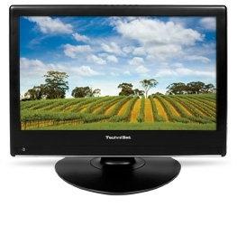TechniSat TechniVision 22 C LCD TV für analog + digital Kabel TV schwarz